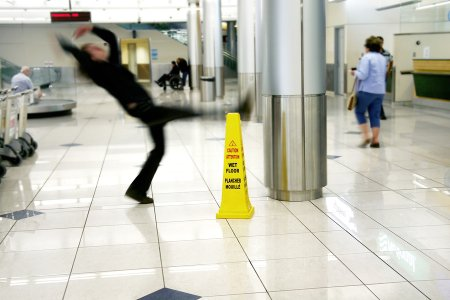 Slip and Fall Lawsuit in Tracy